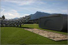 Red Bull Racing – Outside Hangar 7 – Formula1 and Planes - RedBull at Airport Salzburg, Austria/Österreich