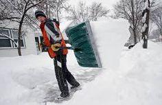 Image result for images of shoveling snow