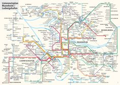 The #Mannheim/#Ludwigshafen #Tramway Network is the tram system serving Ludwigshafen am Rhein, Mannheim and Heidelberg cities in Rhine Neckar area in Germany. It happens to be the most important mode of public transport in the Rhine-Neckar region. This vast tram network covers important tourist destinations, schools and universities, train stations and city centers in the region.