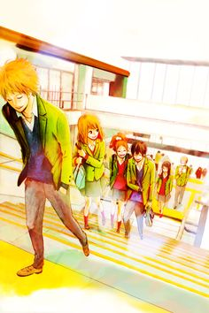 Orange | Takano Ichigo | TMS Entertainment / Takamiya Naho, Naruse Kakeru, Hiroto Suwa, Murasaka Azusa, Chino Takako, and Hagita Saku / Shoujo Manga Pictures on Tumblr