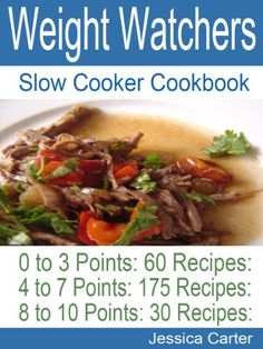 Selected weight watchers collection of slow cooker recipes with proper indexing and with points to follow your diet plan.