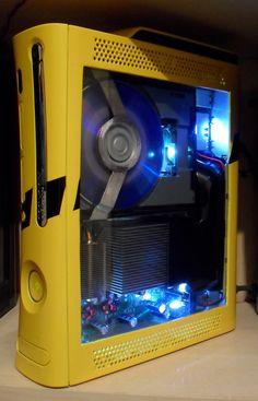 Yellow X-Box 360, seriously some beautiful stuff right here