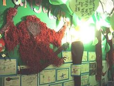 jungle classroom displays - Google Search