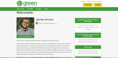 Here is the candidate representing Green Party, James Arruda. His page provides his ethnic and academic background but lacks a social media presence. The message they are trying to convey is vague and inconsistent. #SMH #getwiththeprogram #elxn42 #MRK634