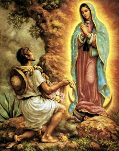 St Juan Diego and Our Lady of Guadalupe get December 12 th