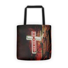 Manhattan Sin Tote bag