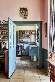 Ashtall Manor | House & Garden Zen, Caribbean Homes, Interior And Exterior, Interior Design, Red Rooms, Swedish Design, Kitchen Trends, Kitchen Ideas, Bay Window