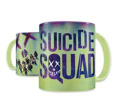 Suicide Squad Tasse Logo Grün. Hier bei www.closeup.de