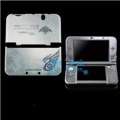 Monster Hunter 4G Housing shell Case Cover Faceplate screen stickers for New Nintendo 3DS LL 3DSLL
