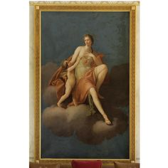 """PAINTINGS, FURNITURE AND WORKS OF ART FROM THE COLLECTION OF GIANNI VERSACE VILLA FONTANELLE, MOLTRASIO -  Follower of Heinrich Friedrich Füger (1751 – 1818) """"VENUS AND CUPID""""."""