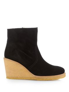 Sèvres suede wedge ankle boots | A.P.C. | MATCHESFASHION.COM UK