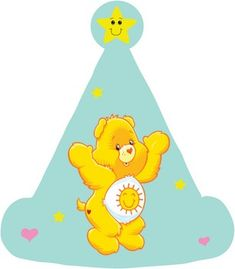 Care Bear Table Decor 2 Party Decorations & print outs