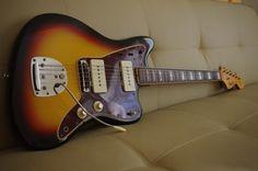 1966 Fender Jazzmaster - Sunburst w/ OHSC