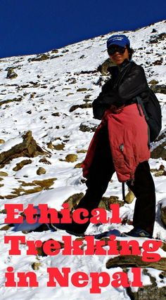 Tips and guidelines on ethical trekking in Nepal to make sure your Nepal trekking experience is positive for everyone concerned, particularly the porter communities of this beautiful and impoverished country. Wander Outfits, Trekking Outfit, Summer Hiking Outfit, Nepal Trekking, Hiking Boots Women, Asia Travel, Travel Tips, Travel Guides, Travel Destinations