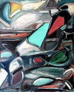 Saatchi Online Artist Kiana Mosley the Aquarian #art #abstract #modern