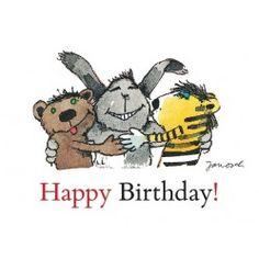 Happy Birthday! (Postkarte DIN A6) Happy Birthday Kind, 20th Birthday, Happy Birthday Images, Birthday Pictures, Happy Day, Bullet Journal Writing, Birthday Postcards, Dinosaur Birthday, Frases