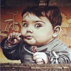 Smugone Streetart, Urban Art, Street Art, Smugone Graffiti, Street Art, Art Graffiti, Art Street, Graffiti Street