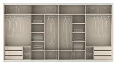 Optimiza tu #armario y añade soluciones inteligentes de almacenamiento, con  un poco de planificación práctica, y posiblemente un par de donaciones a la papelera de la ropa de segunda mano más cercana. http://www.ros1.com/es/noticia/2015-06-29-optimiza-tu-armario