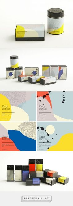 Sing Tehus - Japanese Tea Packaging Design by All The Way to Paris