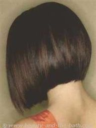 awesome Idée coupe courte : a line bob haircut pictures back view - Bing Images. Line Bob Haircut, Short Bob Haircuts, Haircut And Color, Short Haircut, Bob Haircut Back View, Classic Bob Haircut, Love Hair, Great Hair, Short Hair Cuts For Women