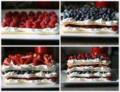 Delicioso pastel de fresas, busca más ideas en http://www.1001consejos.com/recetas