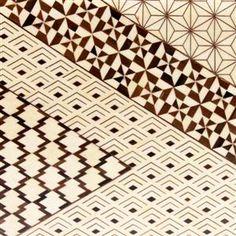 箱根寄木細工 Hakone Yosegi pattern