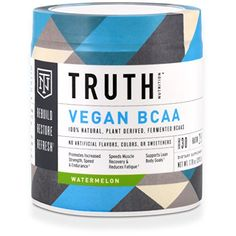 Truth Nutrition Naturally Fermented BCAA 211 Powder Instantized  Watermelon  30 Servings  Plant Based NonGMO Gluten Free  Branched Chain Amino Acids  PrePost Workout Supplement * Want to know more, click on the image.
