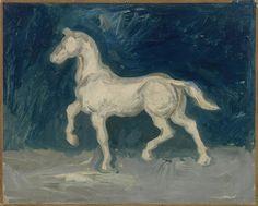 Vincent van Gogh, Horse, Paris, Spring 1886, Van Gogh Museum Amsterdam.