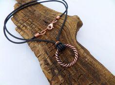Copper Necklace Men's Copper Pendant Necklace