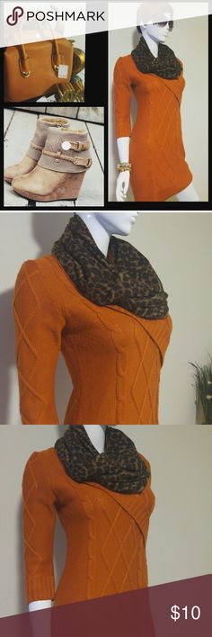 Supercute sweater dress Cute sweater dress in excellent condition Hip 34 length 37.5' Dresses Mini