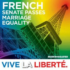 Égalité! Same-sex marriage should be LEGAL in France very soon! Paris, France wedding, anyone?!