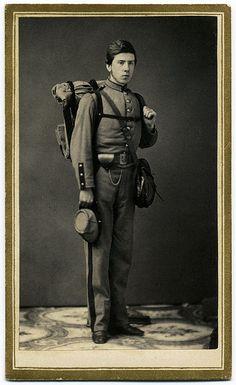 Alfred C. Barnes, probably a NY MIlitiaman of 1861.