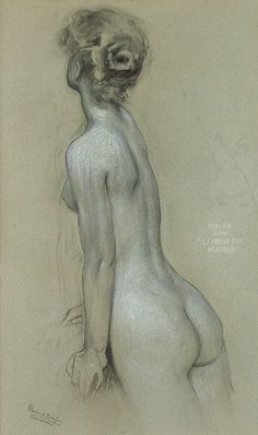 simple pose of a women's back