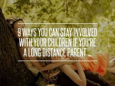 9. Trade Physical Objects - 9 Ways You Can Stay Involved with Your Children if You're a Long Distance Parent ... → Parenting