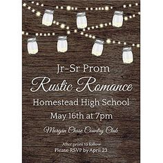 Our Rustic Wedding Personalized Invitations Are Available In Two Convenient Sizes 4 X 6 Or