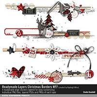Readymade Layers: Christmas Borders No. 07