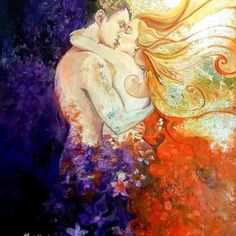 Be with me. I will open the gate to your love ~Rumi  twww.soulmatereading.com   Art; Ines Honfi