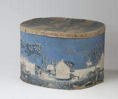 Antique wallpaper box...