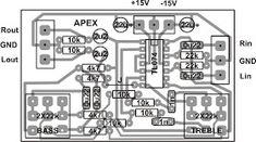 Layout Pcb Tone Control Apex - Thursday August 27 2015 - Layout Pcb Tone Control Apex