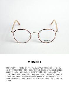 MOSCOT モスコット ZEV 46サイズ 七宝 ボストンフレーム メガネ 伊達 度付き