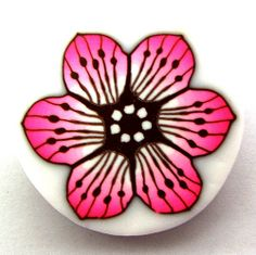 Polymer clay flower cane | Flickr - Photo Sharing!