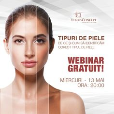 You are invited to join a webinar: Venus Concept Clinical Webinar - Skin Typing. After registering, you will receive a confirmation email about joining the webinar. You Are Invited, Clinic, Concept, Invitations, Type, Invitation