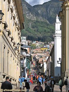 I want to see where the love of my life grew up- Bogota, Colombia.