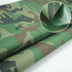 Camo oxford fabric with pvc coated water proof Pvc Coat, Oxford Fabric, Sunglasses Case, Print Design, Prints, Karma, Water, Gripe Water, Print Layout