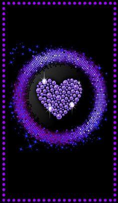 Pink Diamond Wallpaper, Pink And Purple Wallpaper, Bling Wallpaper, Purple Art, Purple Love, Purple Backgrounds, Love Wallpaper, Wallpaper Backgrounds, Wallpaper Ideas