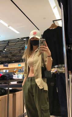 Swaggy Outfits, Cute Casual Outfits, Summer Outfits, Teen Fashion Outfits, Look Fashion, Girl Fashion, Looks Pinterest, Aesthetic Clothes, Streetwear Fashion