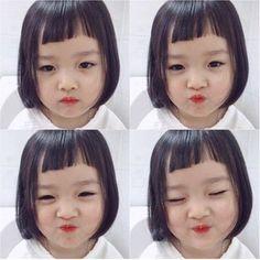 tron bo kieu toc xinh-doc-la ma hai huoc, me nen cat thu cho be gai it nhat mot lan - 1 Cute Asian Babies, Korean Babies, Asian Kids, Cute Babies, Cute Little Baby, Little Babies, Baby Love, Baby Kids, Baby Girl Quotes
