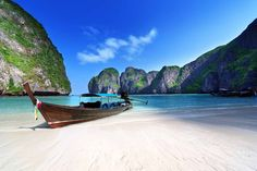 Ko Phi Phi Don Island Beaches, Thailand | Travel Channel's World's Sexiest Beaches | Brilliant turquoise waters lure travelers to the shores of Ko Phi Phi Don Island, Thailand. Bamboo Island, Laem Tong Beach, Loh Dalum, Koh Phi Phi Leh and Loh Bagao Bay are some of the beaches found around the island, but Long Beach is the most popular and a great spot for snorkeling, too.