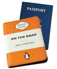 Penguin Passport Case On the Road