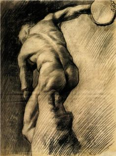 The Discus Thrower, 1886-Vincent van Gogh